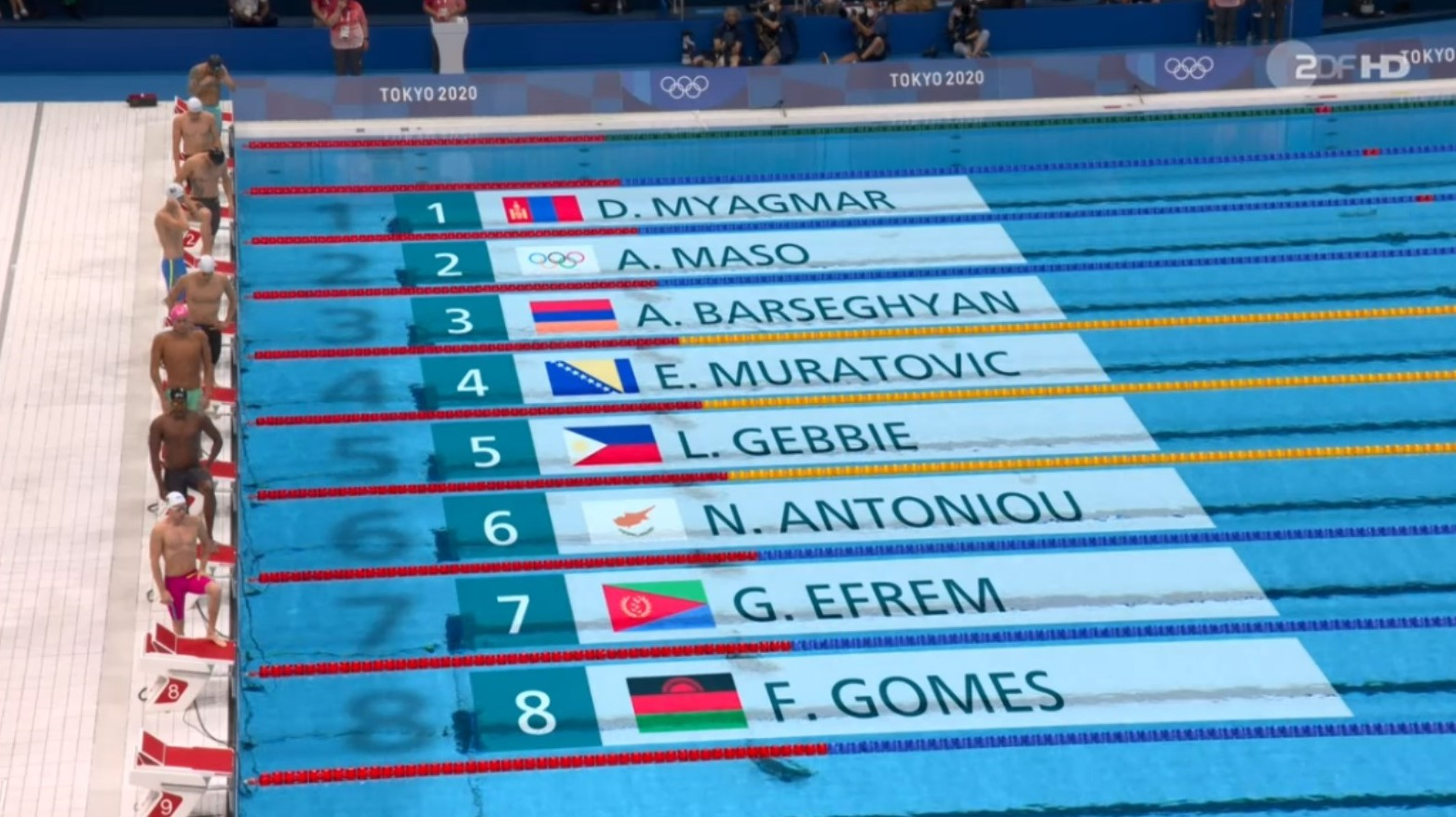 Read more about the article Alaa Maso in Tokio | 50m Freistil in 0:23,30